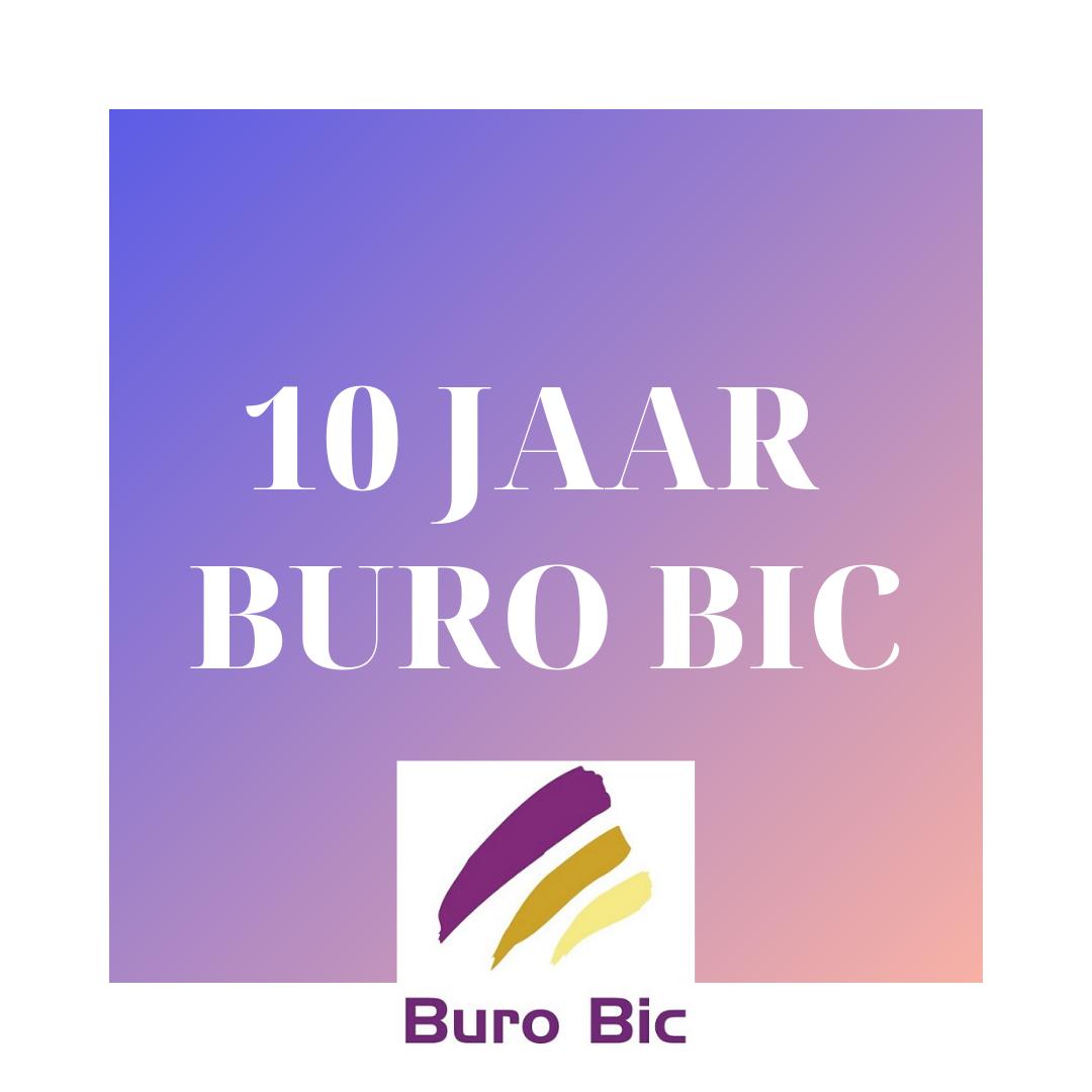 Jubileum: 10 Jaar Buro Bic