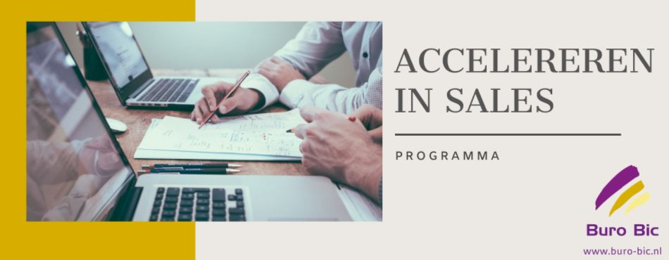 ***NIEUW*** Sales Training: Accelereren In Sales